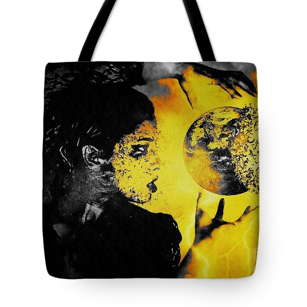 The World Is Mine Tote Bag by Jessica Shelton