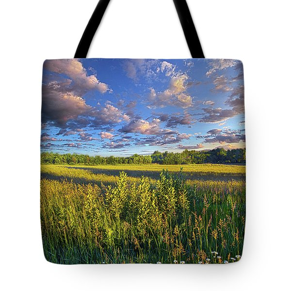 The World Is Quiet Here Tote Bag