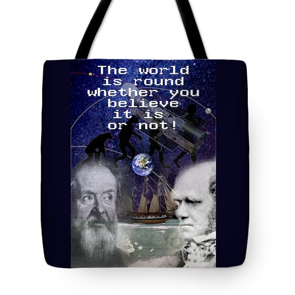 The World Is Round Tote Bag