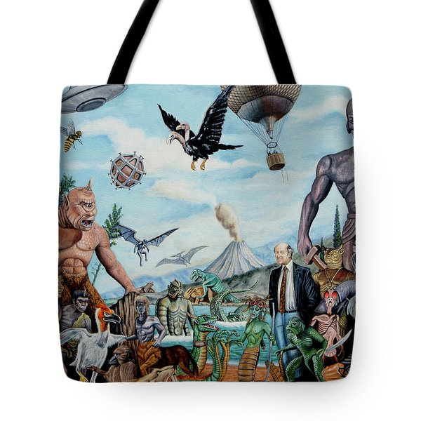The World Of Ray Harryhausen Tote Bag