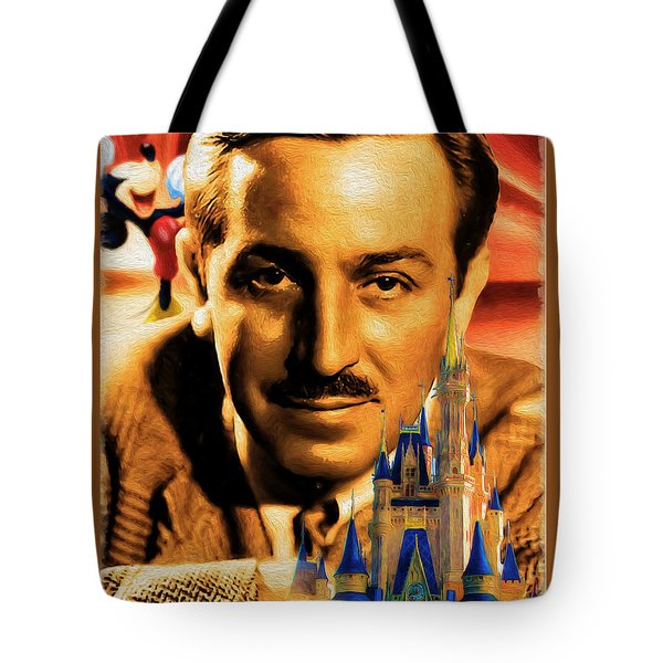 The World Of Walt Disney Tote Bag