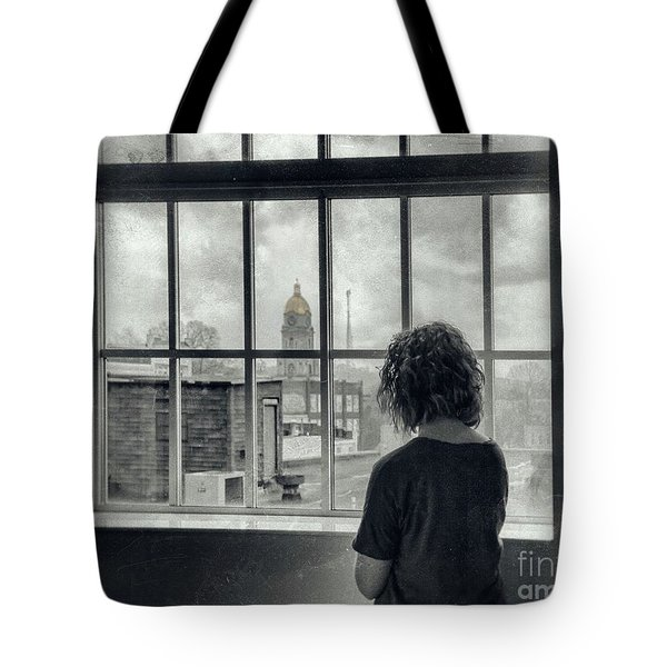 The World Outside My Window Tote Bag