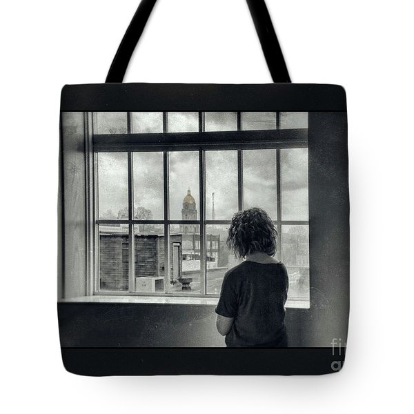 The World Outside My Window Number II  Tote Bag