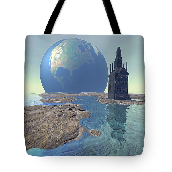 The World Turns Tote Bag by Corey Ford