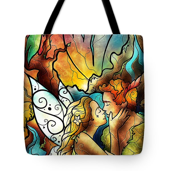 The World Was Ours Tote Bag