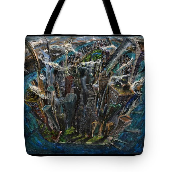 The Worlds Capital Tote Bag by Antonio Ortiz