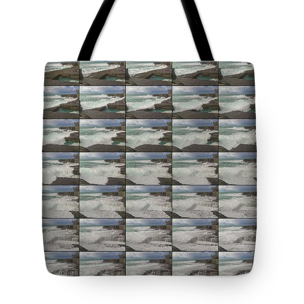 The Worm Hole Water Behavior Sequence Tote Bag