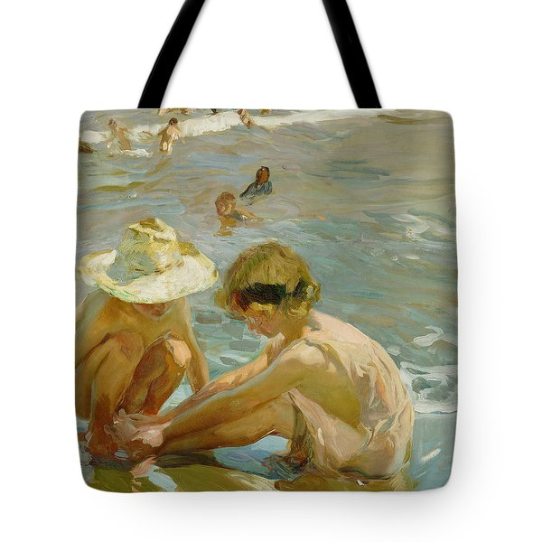The Wounded Foot Tote Bag by Joaquin Sorolla y Bastida