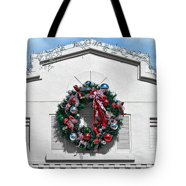 The Wreath Tote Bag by Christopher Holmes