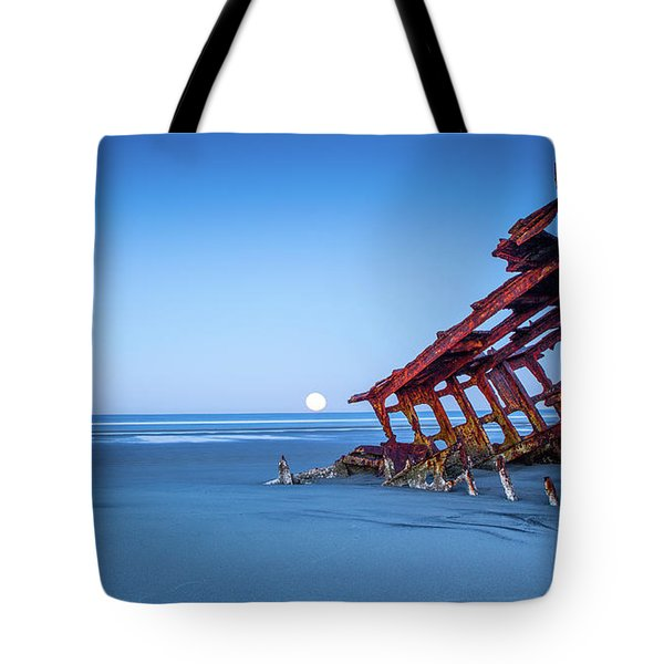 The Wreck Of The Peter Iredale Tote Bag