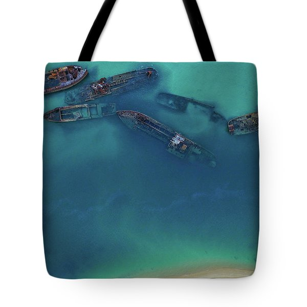 The Wrecks Tote Bag