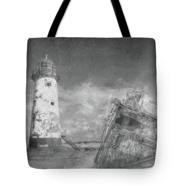 The Wrecks  Tote Bag by Steev Stamford
