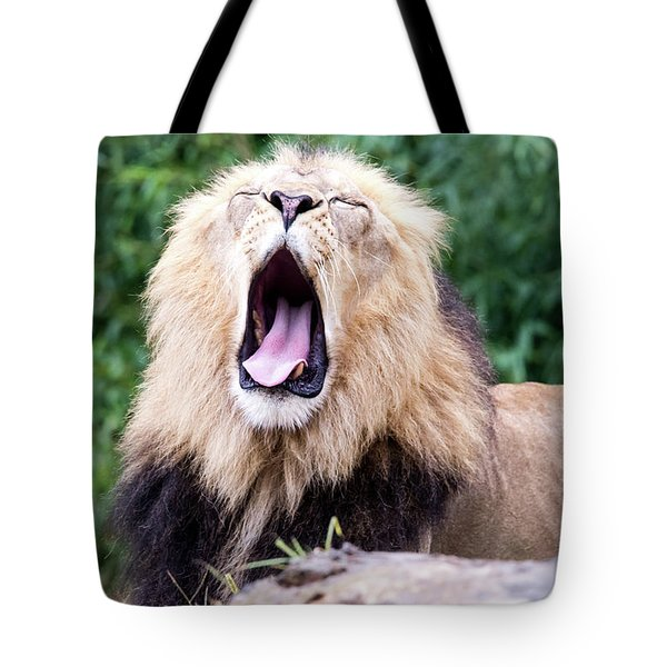 The Yawn Tote Bag