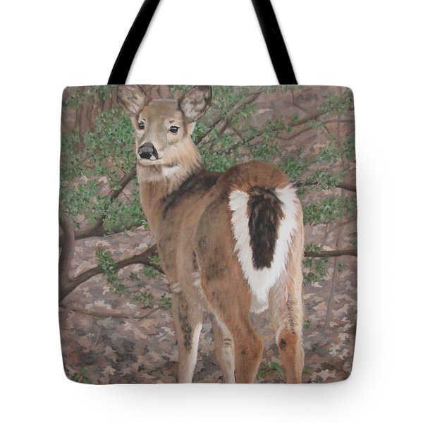 The Yearling Tote Bag by Sandra Chase