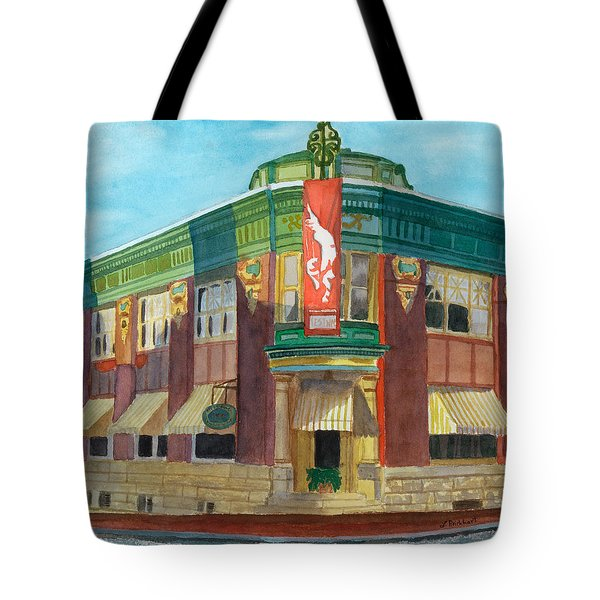 The Yellow Brick Bank Restaurant Tote Bag