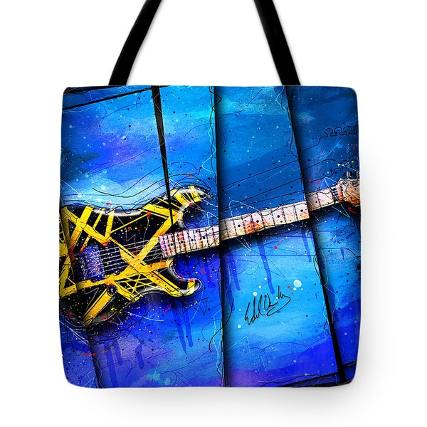 The Yellow Jacket Tote Bag by Gary Bodnar