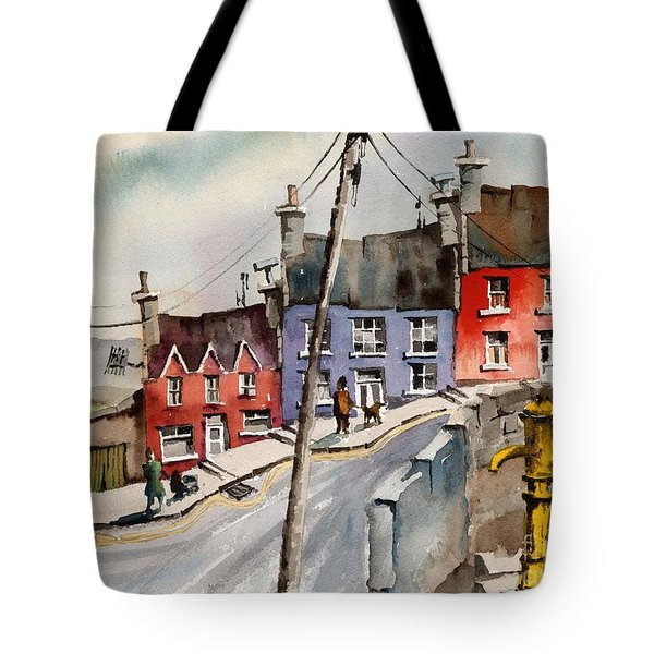 The Yellow Pump, Eyeries, Cork Tote Bag