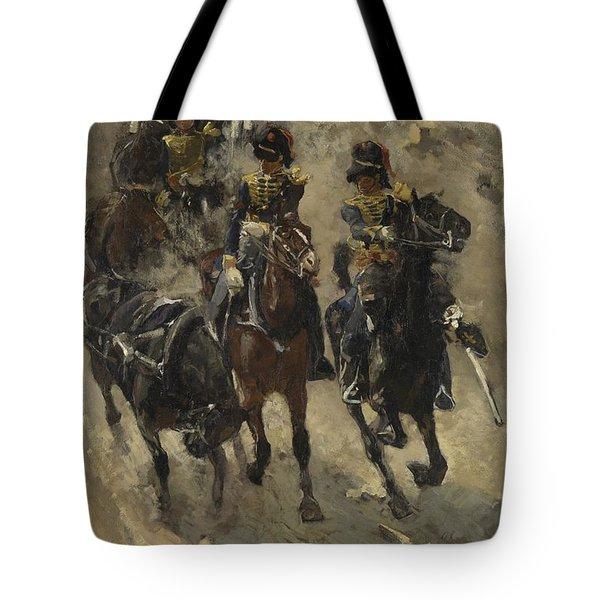 The Yellow Riders, George Hendrik Breitner, 1885 - 1886 Tote Bag