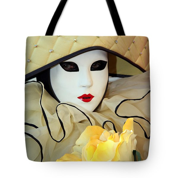 The Yellow Rose Tote Bag