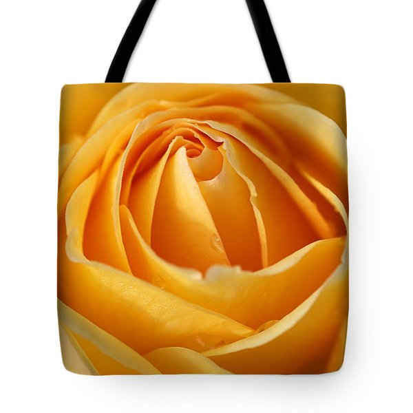 The Yellow Rose Tote Bag by Joy Watson
