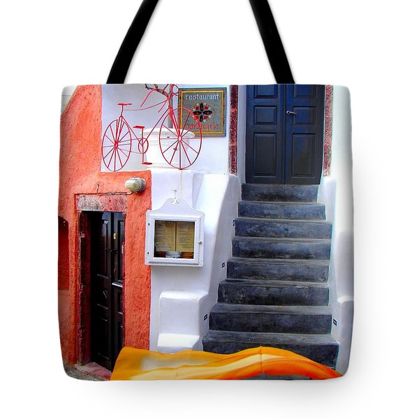 Tote Bag featuring the photograph The Yellow Scarf by Ana Maria Edulescu