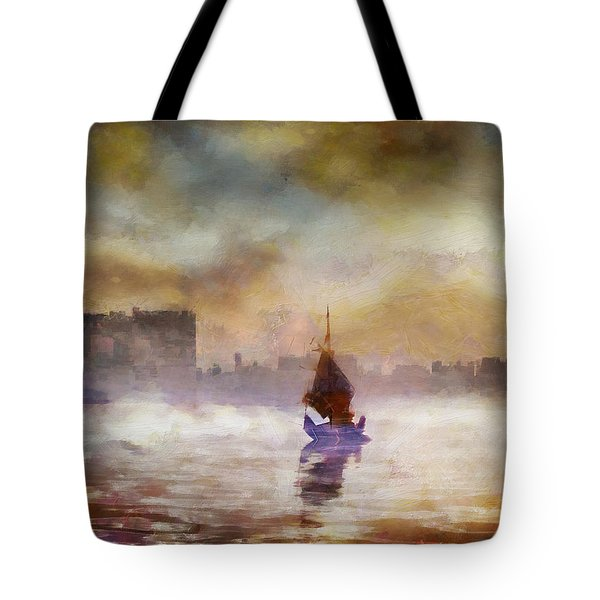 The Yellow Sunrise Tote Bag