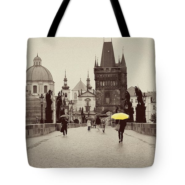 The Yellow Umbrella For Erin Tote Bag