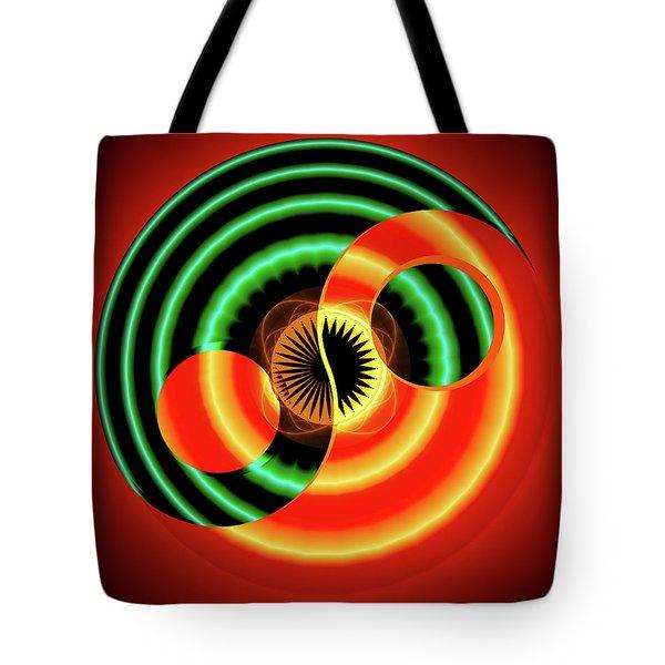 The Yin And The Yang Tote Bag by Mario Carini