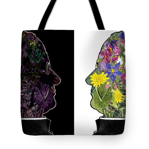 The Yin Yang Of Gregor Mendel Tote Bag