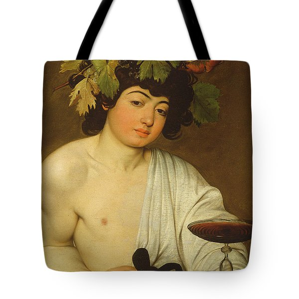 The Young Bacchus Tote Bag