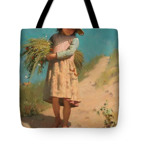The Young Gleaner 1888 Tote Bag