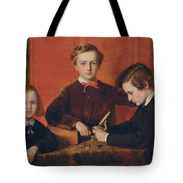 The Young Microscopists Tote Bag