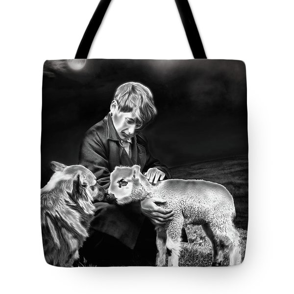 The Young Ones Tote Bag by Pennie  McCracken