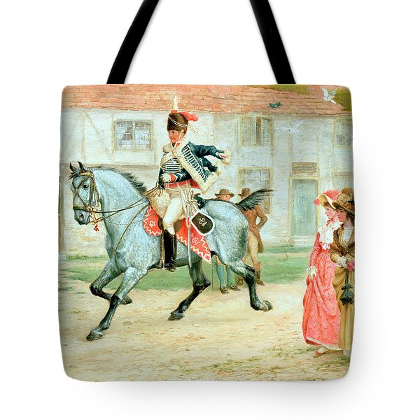 The Young Subaltern Tote Bag by Richard Cattermole
