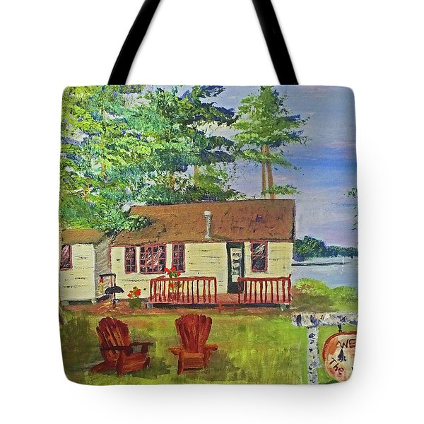 The Young's Camp Tote Bag