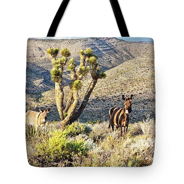 The Zebra Burro Tote Bag