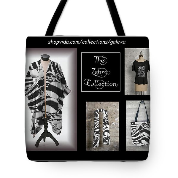The Zebra Collection Tote Bag by Geraldine Alexander