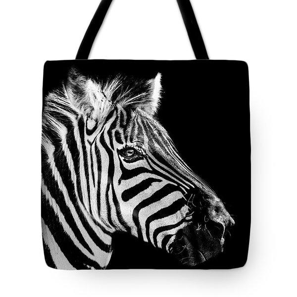 The Zebra Stripes Tote Bag