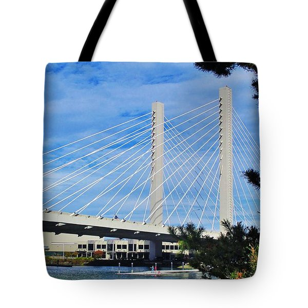 Thea Foss Bridge  Tote Bag by Martin Cline