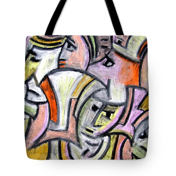 Theater Actors By Rafi Talby Tote Bag by Rafi Talby