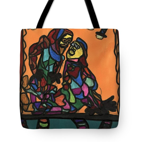 Theater Tote Bag by Darrell Black
