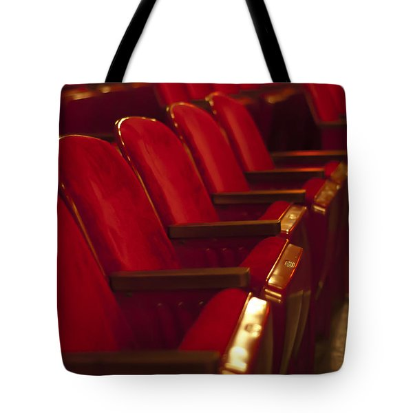 Theater Seating Tote Bag by Carolyn Marshall
