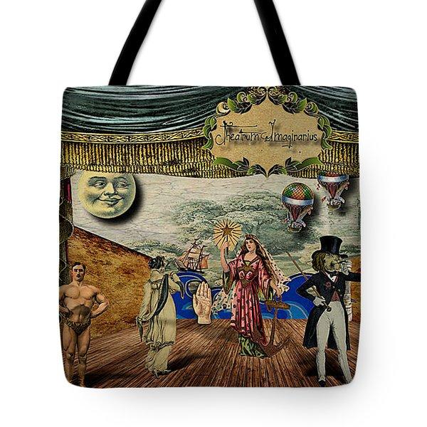 Theatrum Imaginarius -theatre Of The Imaginary Tote Bag by Cinema Photography