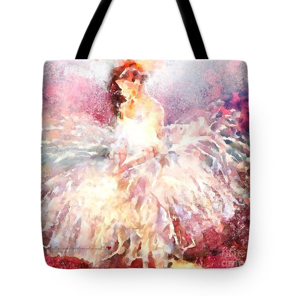 thebroadcastmonkey Painting Tote Bag