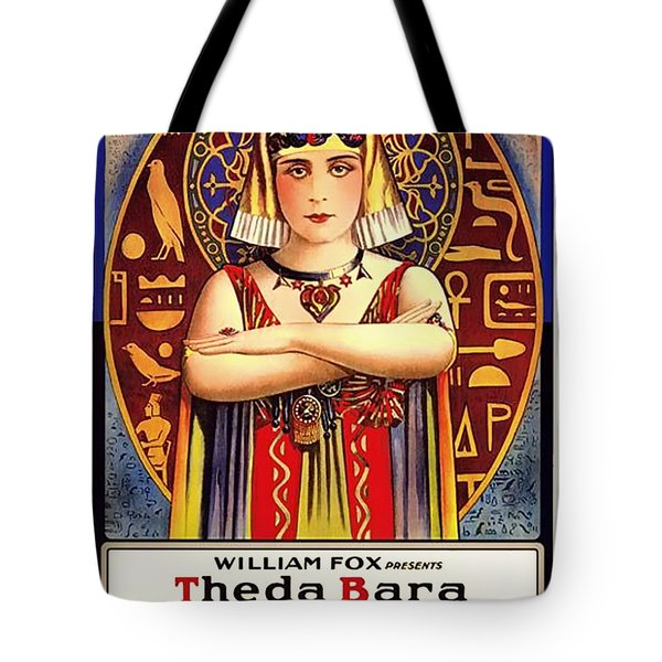Theda Bara In Cleopatra 1917 Tote Bag