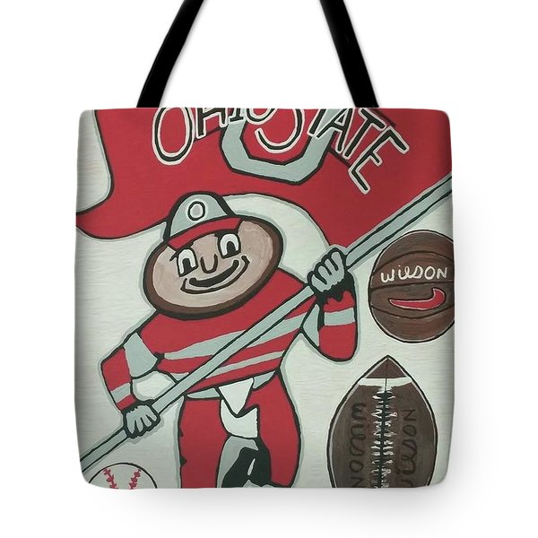 Thee Ohio State Buckeyes Tote Bag