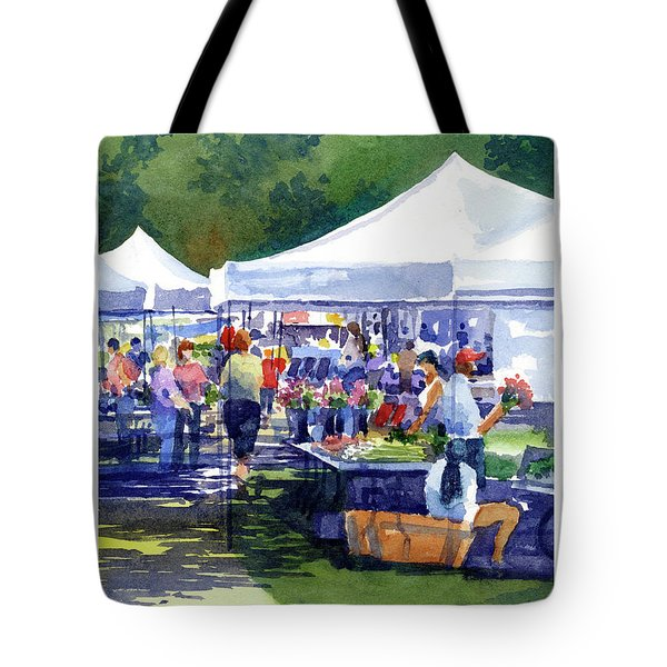 Theinsville Farmers Market Tote Bag