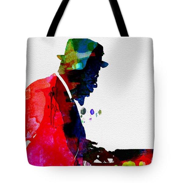 Thelonious Watercolor Tote Bag