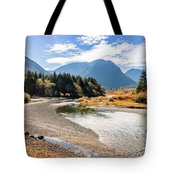 Thelwood Creek Fall Tote Bag
