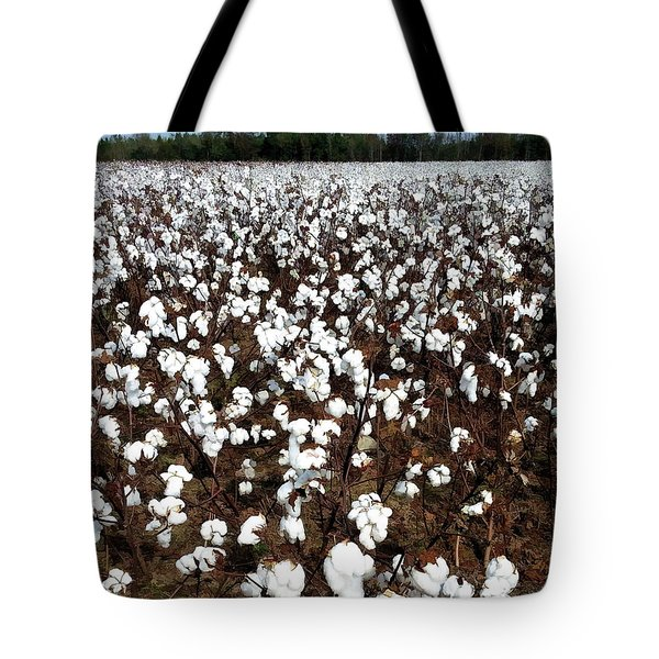 Them Old Cotton Fields Back Home Tote Bag